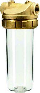 Brass filter housing