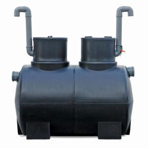 Separador de hidrocarbonetos para elevados caudais
