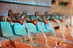 desinfecção de água fontanários
