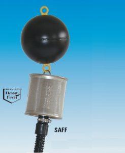 Filtro flutuante para sistema de recolha de água da chuva