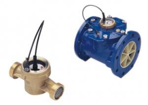 contadores de água com emissor de impulsos